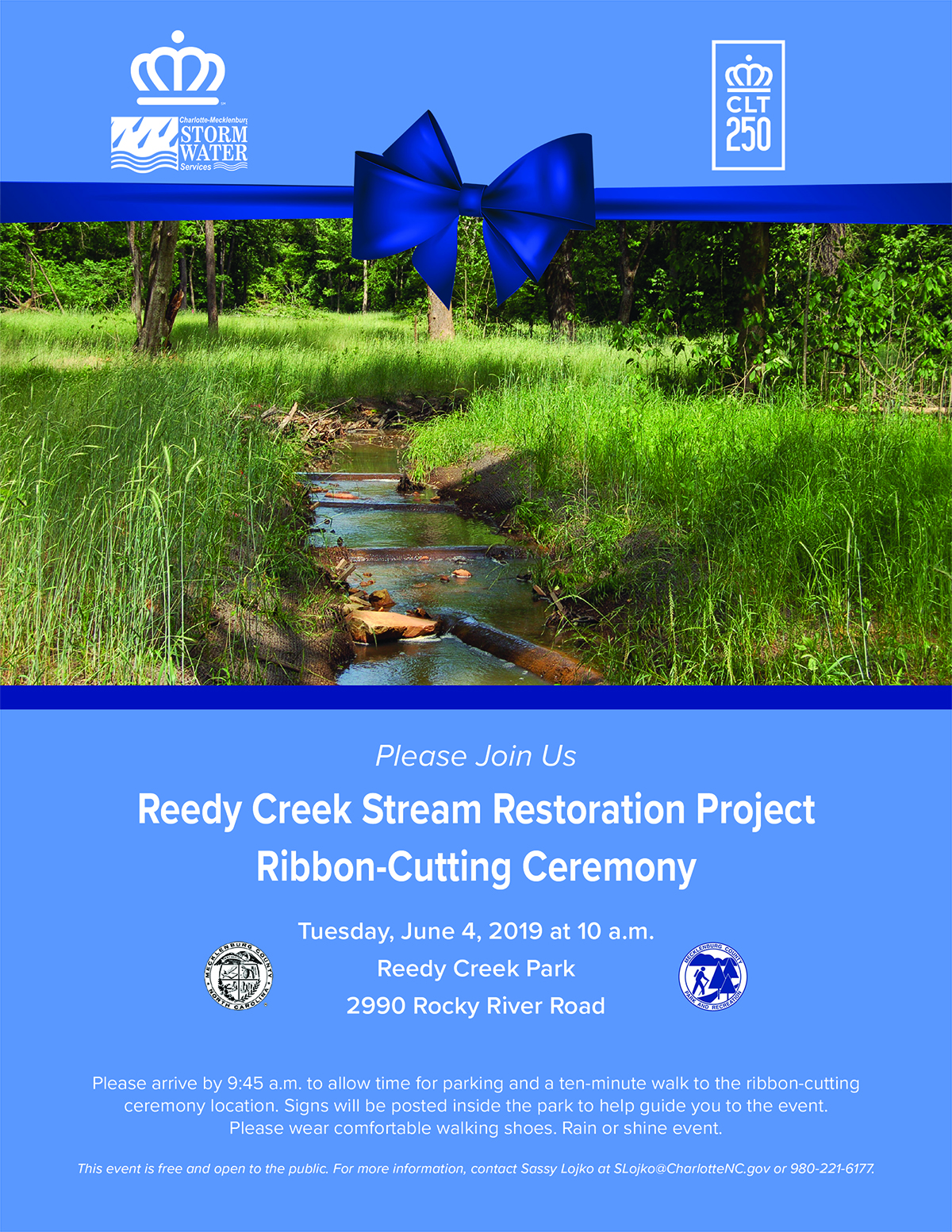 Reedy Creek Stream Restoration Project